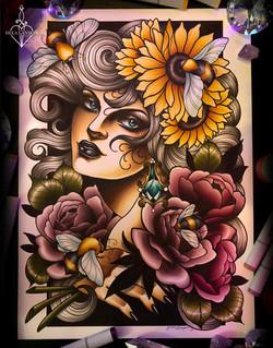 bee lady 2