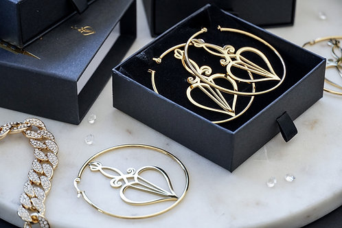 Logo Hoops Gold