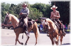 Wil Howe Ranch Geldings at Pendleton Round-Up Centennial Celebration Parade