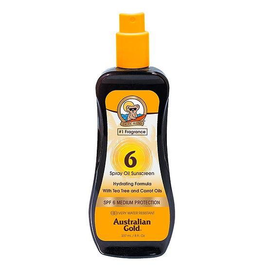 Australian Gold SPF carrot oil