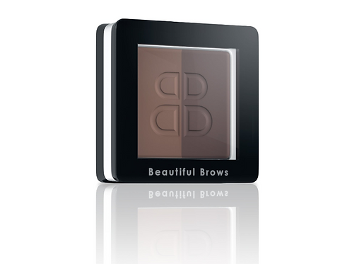 PRO Beautiful Brows Duo eyebrow powder - Light Brown / Medium Brown