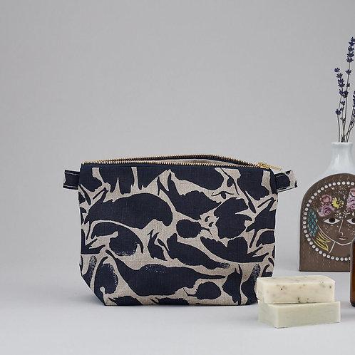 Large Wash Bag Navy