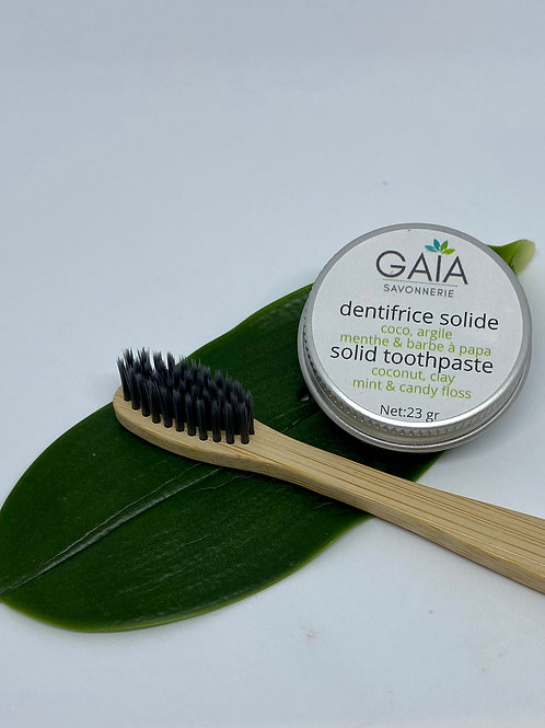 Dentifrice Solide Menthe/Barbe à papa