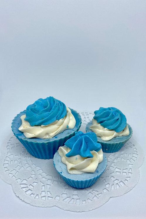 Savon Bébé Cupcake Bleu