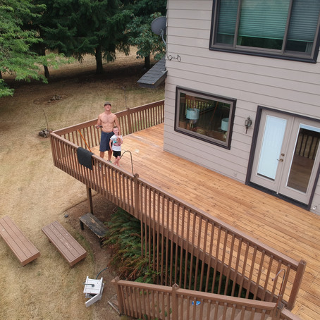Big Summer 2019 Project: How to strip & stain a painted deck