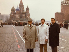 Christian and Pillsbury associates doing business in Russia in 1981