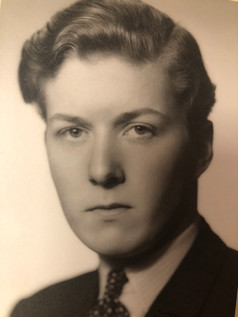 Christian Frederik's school photo from Treider College ca. 1947