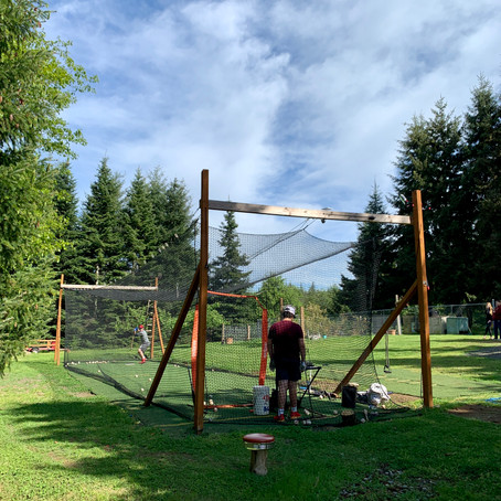DIY Batting Cage