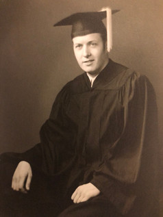 CFK upon graduation from Kansas State University in 1952