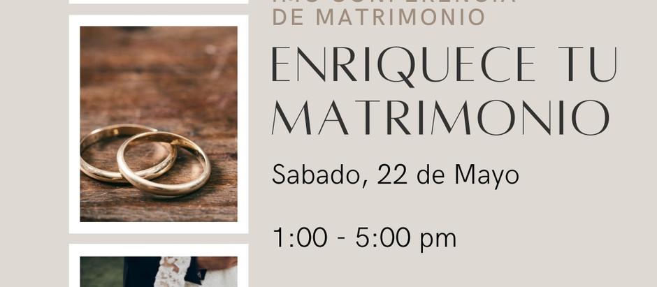 5/22/2021 IMC Conferencia de Matrimonio