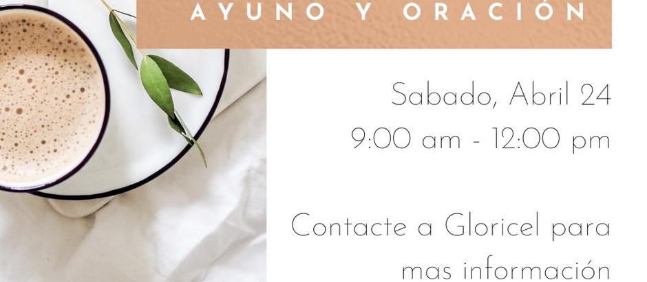 4/24/2021 IMC Mujeres Tiempo de Ayuno y Oración