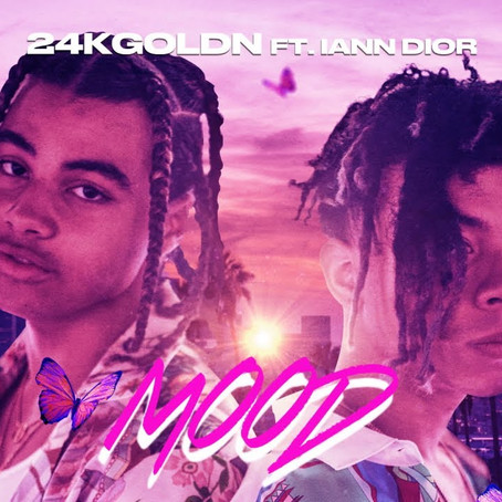 24kGoldn and Iann Dior receive their first No. 1 spot on Billboard Hot 100
