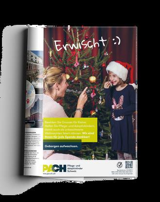 PACH Pflege- & Adoptivkinder Schweiz – Inserat