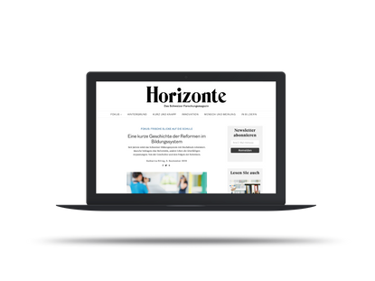 HORIZONTE – Das Schweizer Forschungsmagazin 09_2019