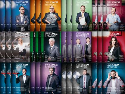 SWISSMEM NETWORK – Kundenmagazin, bei Infel AG entstanden