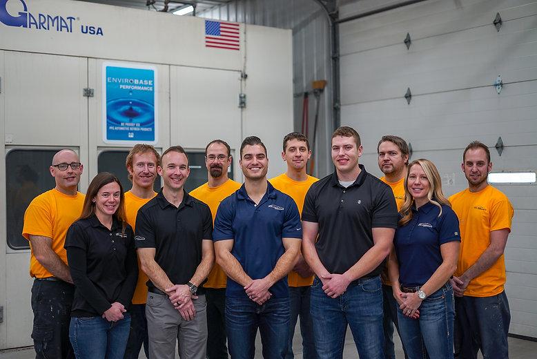 Golden Hammer Collision Cedar Rapids staff photo