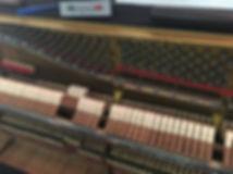 Steinwas & Sons Klavier Fang regulieren