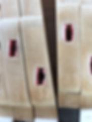ausgepielte Waagebalken-Filze