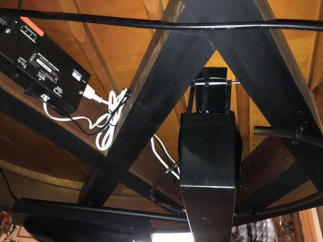 Life Saver eingebaut in einem Bechstein B Flügel