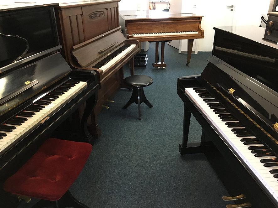 Förster Klavier, Scharf und Hauck Klavier, Hohner Klavier, Bechstein Flügel A