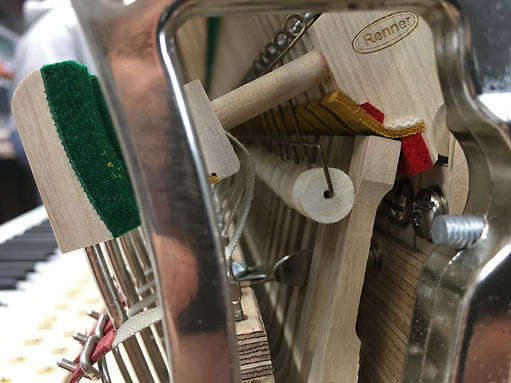 High Speed KAMM Action Springs+Rolls das geniale Feurich Patent ein Quantensprung zur Verbesserung der Repetition der Klaviermechanik