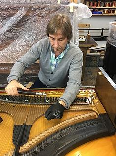 Klavier zwicken, Stimmen ohne Mechanik