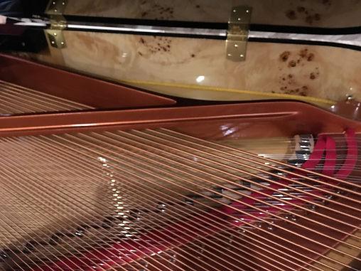 Feurich Dynamic II Bass und Resonazboden
