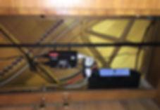 Life Saver eingebaut in einem Grotrian Steinweg Klavier