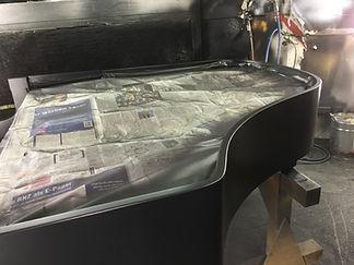 neuer Oberflächenaufbau Ibach Flügel