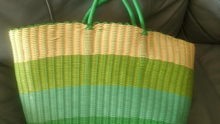 Summer (green and blue) bag
