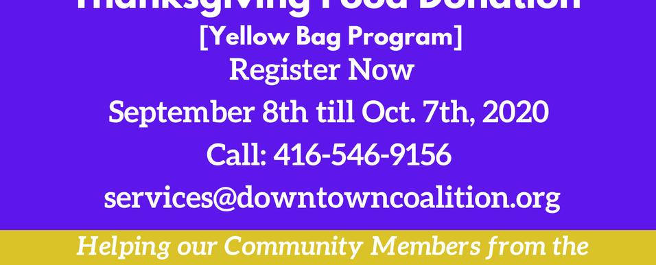 Yellow Bag Program