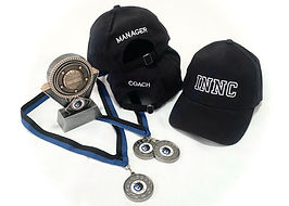 Hats x 3, medals and trophy.jpg