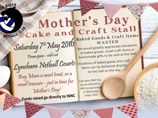 INNC Mother's Day Stall