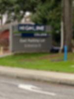East parking lot entrance B Self Care Fa