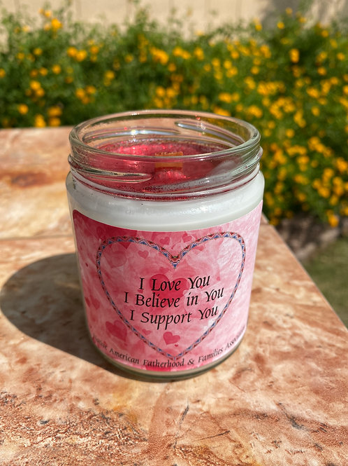 I Love You NAFFA Candle