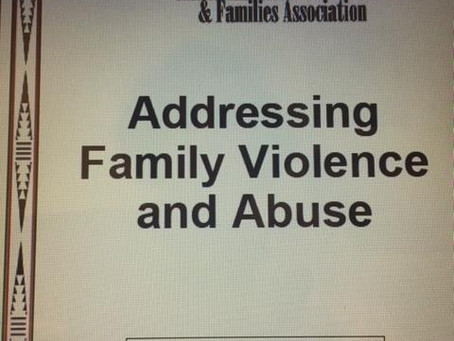 New Curriculum: Addressing Family Violence and Abuse