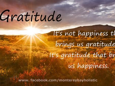 Gratitude: #givethanks