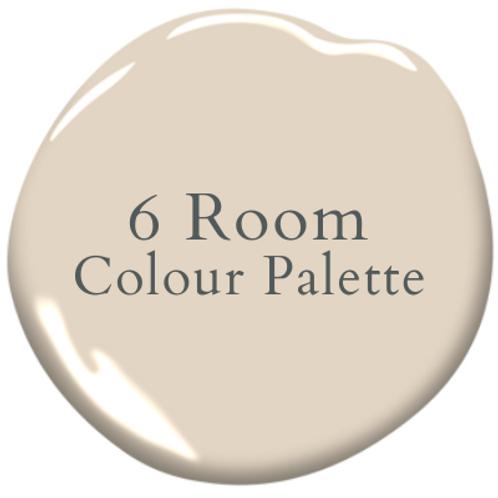 Six Room Colour Palette