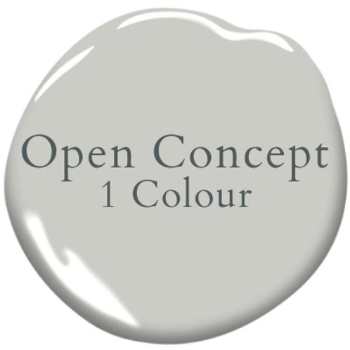 One Colour Open Concept