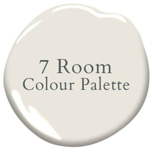 Seven Room Colour Palette