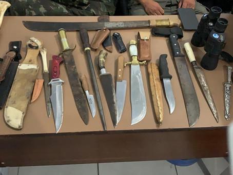 Investigação apreende objetos supostamente roubados em Piratini
