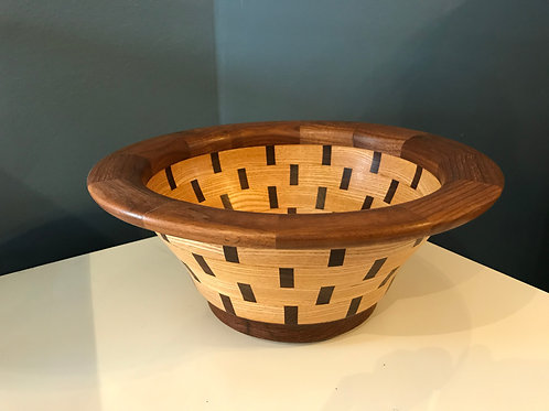 Walnut and Ash Bowl