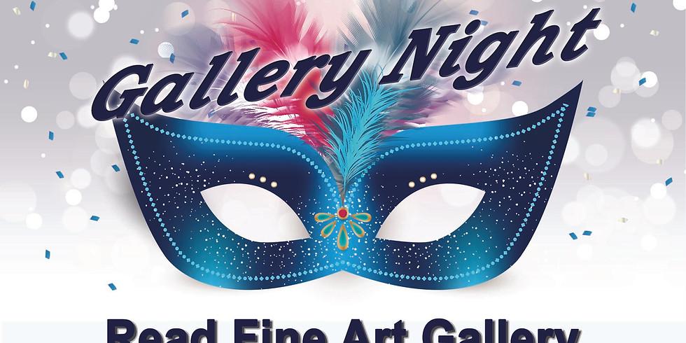 Gallery Night - Mardi Gras Style