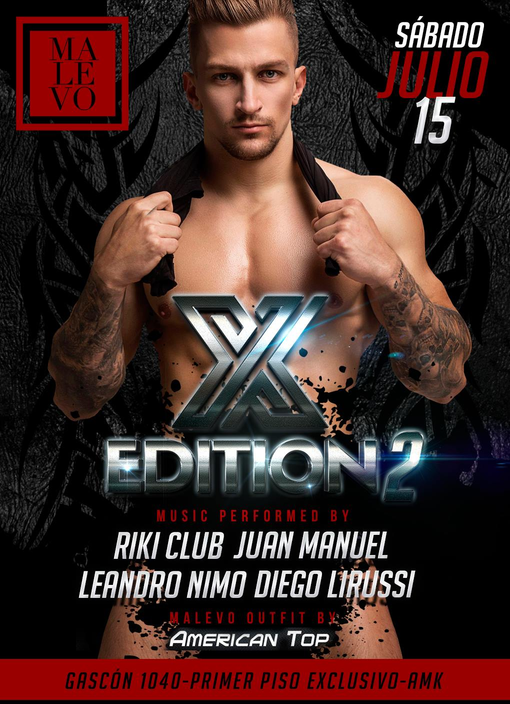 X Edition II 15/7/17