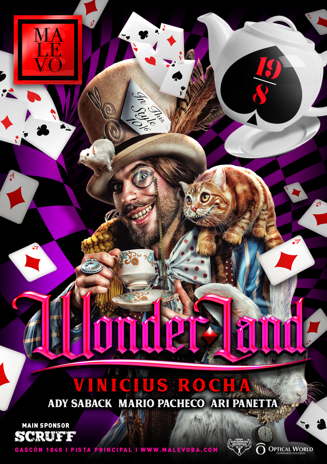 Malevo/Wonderland 19/8/18