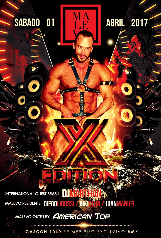 X Edition I 1/4/17