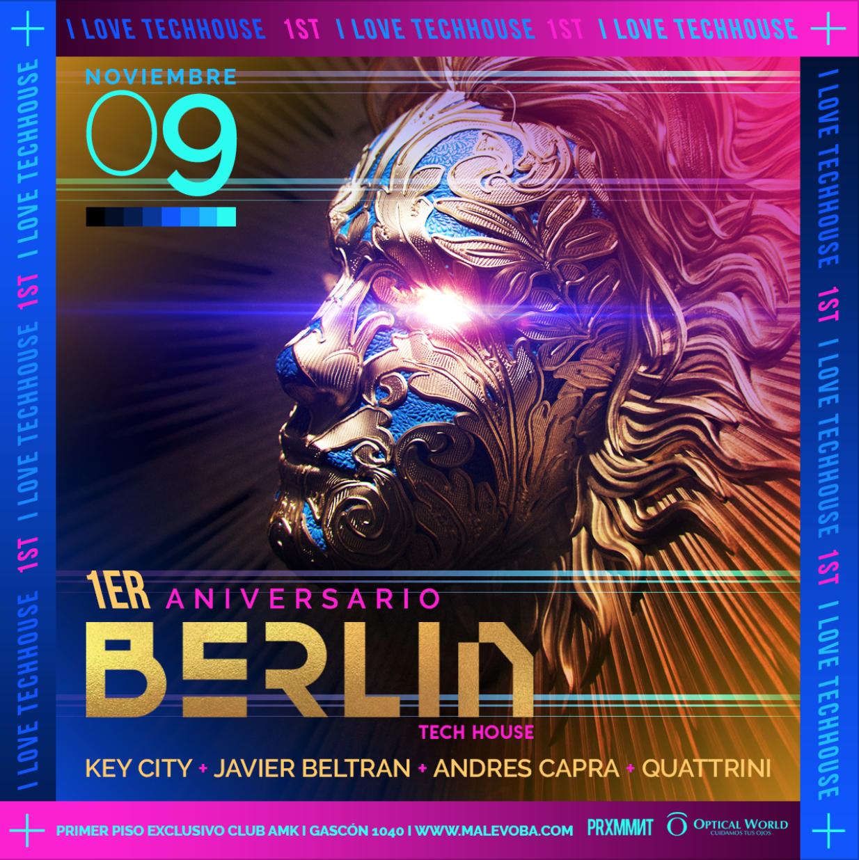 ANIVERSARIO BERLIN VIII 9 NOV