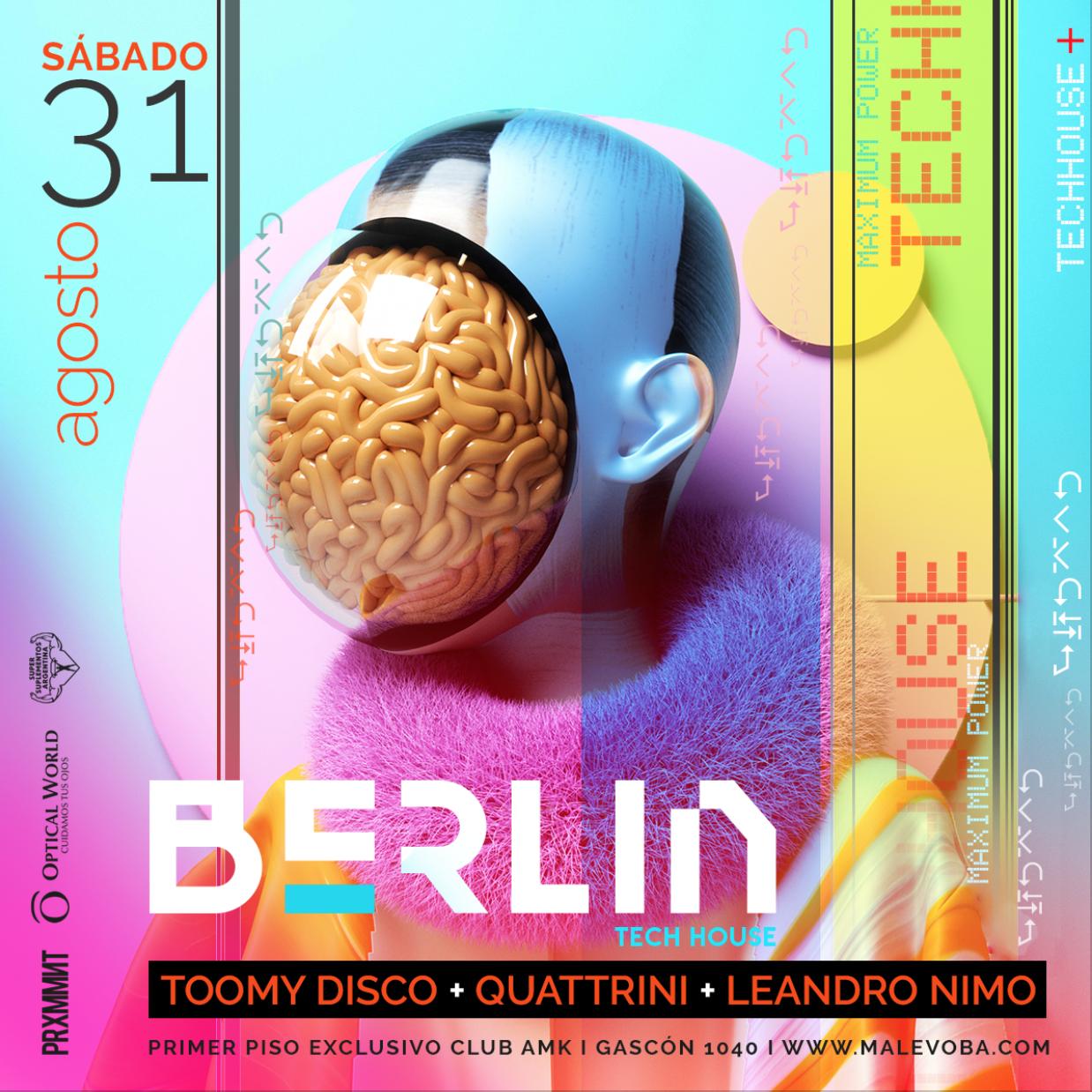 BERLIN VII 31 AGO