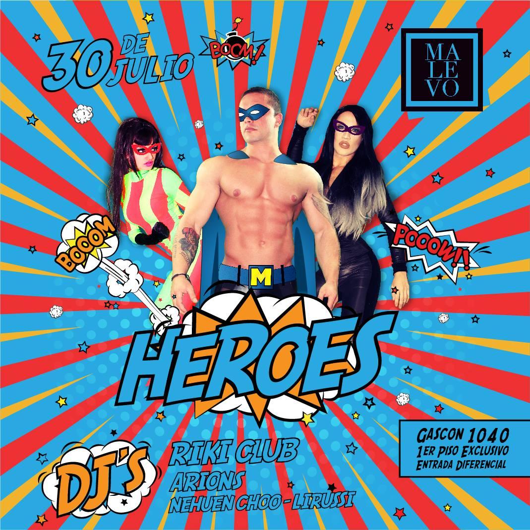 Superheroes 30/7/16