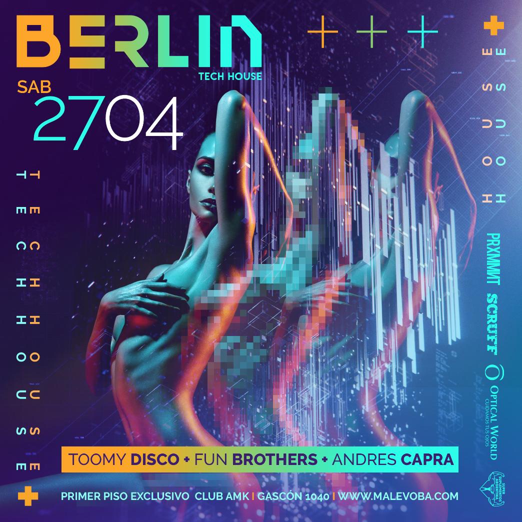 BERLIN V 27 ABR